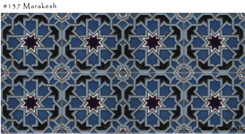 Moorish Tiles Hand Painted Tile Art Decorative Ceramic Tiles
