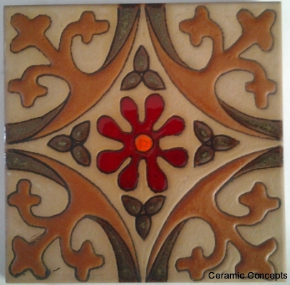 California Custom Spanish Tile