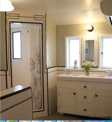 Decorative Tiles for Bathrooms;Modern or Spanish Deco Tiles