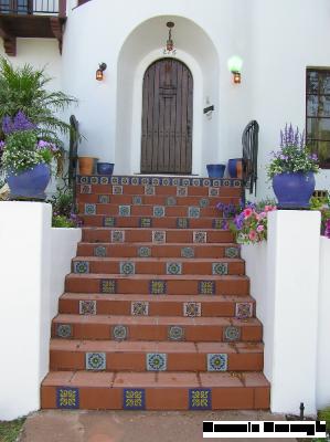 Kitchen Floor Stair Riser Deco Tiles