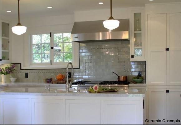 Kitchen Liners And Field Tile Backsplash