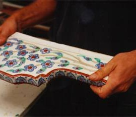 Handpainted Ceramic Tiles Custom Tiles And Reproduction - Custom ceramic tiles maker