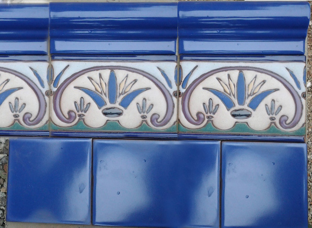 Spanish Tiles Malibu Custom Hand Painted